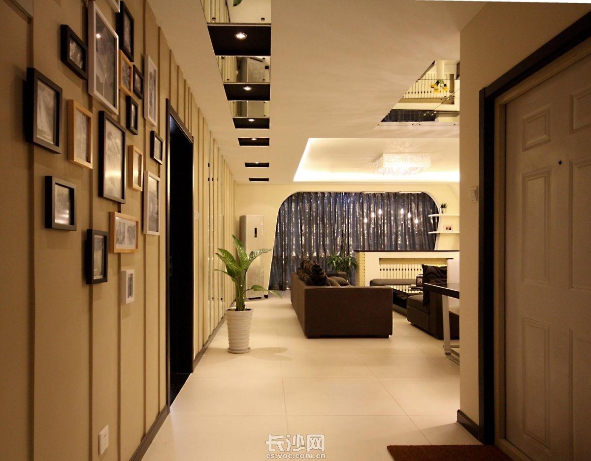 现代风格三居室装修设计案例 装修交流