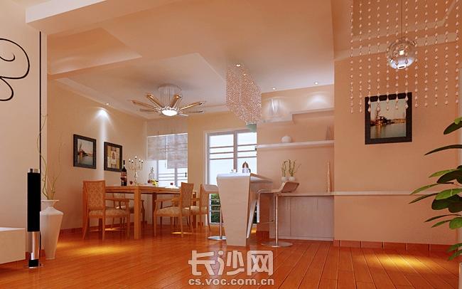 130平现代简约风格室内装修设计