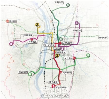 长沙拟建6条快速公交线 BRT 韶山路BRT线路力争今年启动建设图片