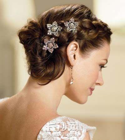 盘点最美新娘发型图片