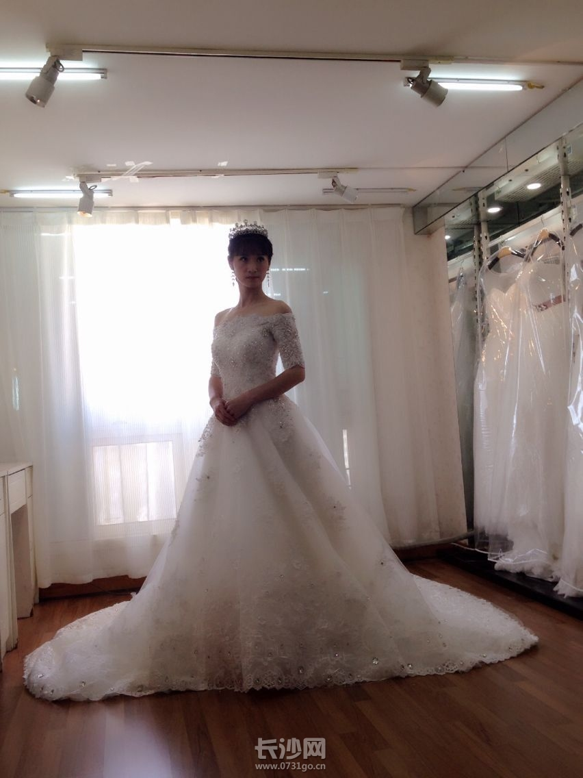 做长沙最美新娘,穿最美婚纱图片