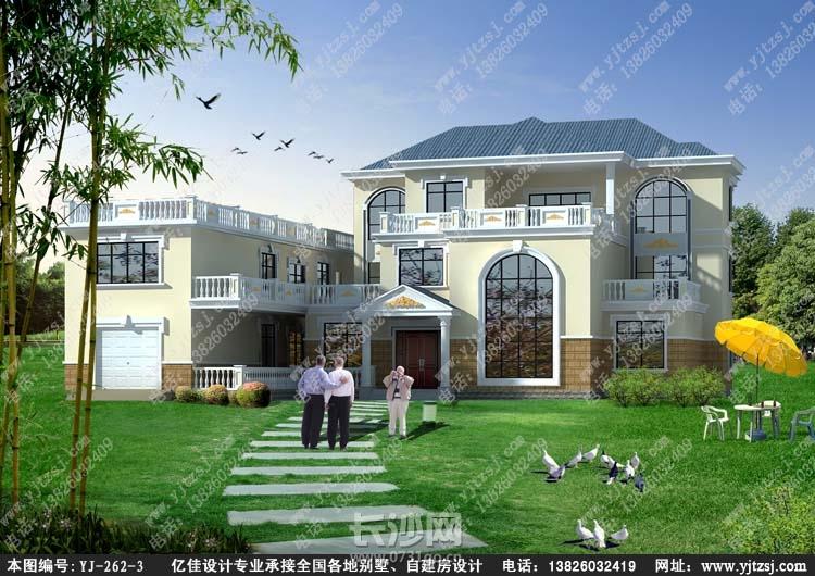 农村二层别墅设计图_农村自建二层小别墅_二层别
