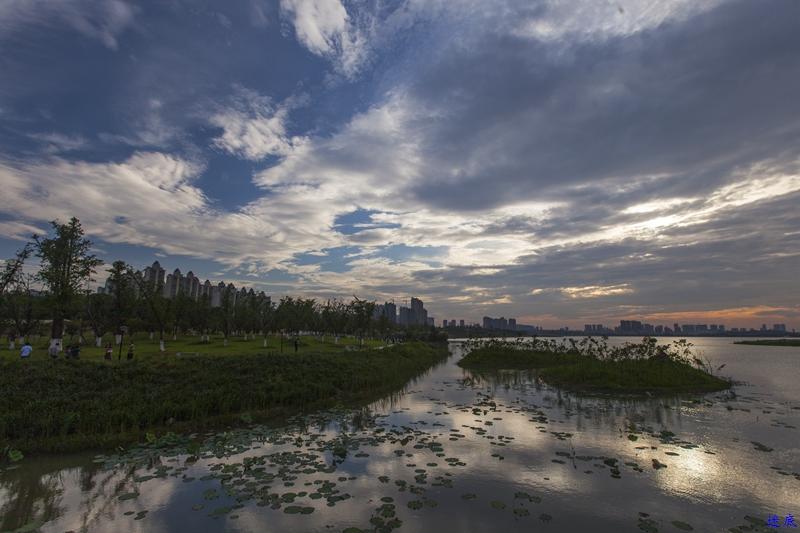 松雅湖晚霞--3.jpg