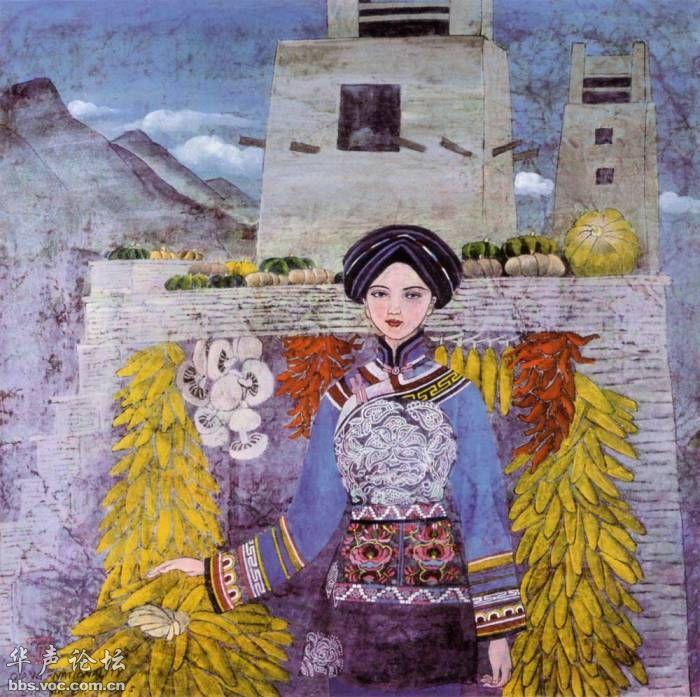 五十六个民族的画-56个民族人物画 我国56个民族你能认全吗 策在长沙 长沙网